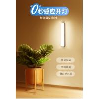 人体感应小夜灯家用过道楼梯声控智能楼道光控长条床头灯衣柜充电